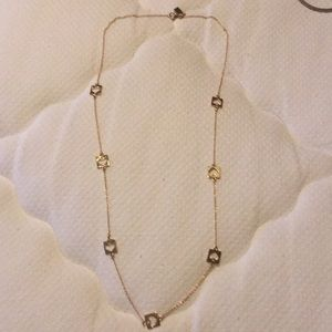 Kate Spade necklace and earrings set.